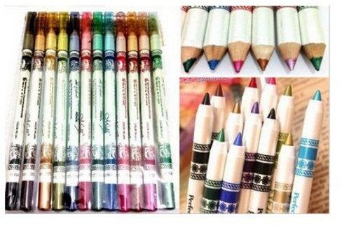12 Lápis de Olho Glitter