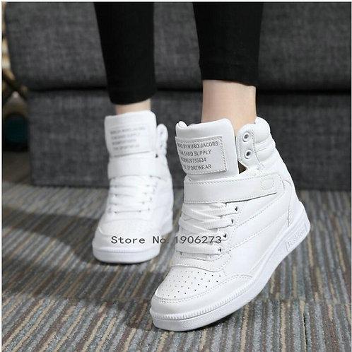 Tênis Sneakers Salto 7cm FG 1714
