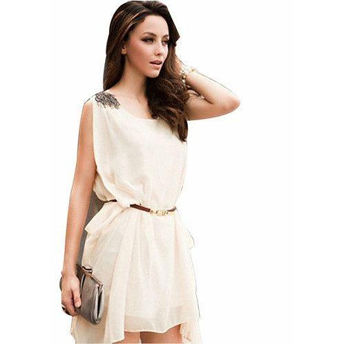 Mini Vestido Casual Para o Verão - FG 06