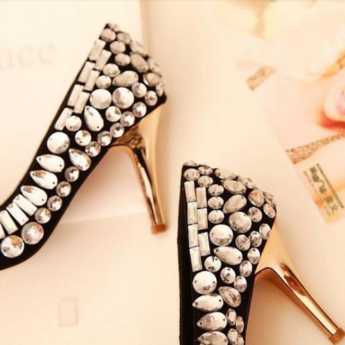 Sapato Strass FG 4066