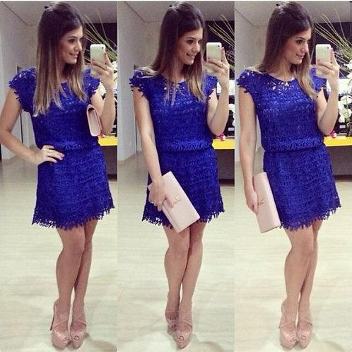 Vestido Linda Blue FG 1122