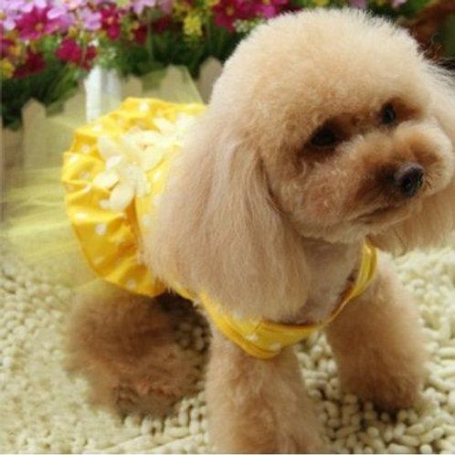 Vestido de Bolinha Cães