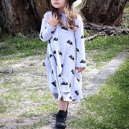 Vestido Infantil Rato FG 4376