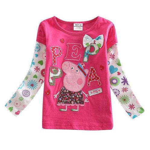 Blusa Peppa Pig FG 4108