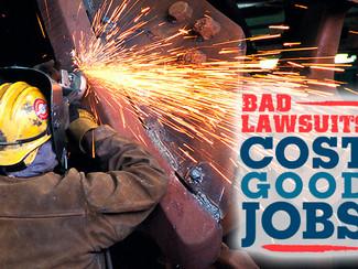 Economic Impact Report Analyzes  Excessive Tort Costs on State Economies