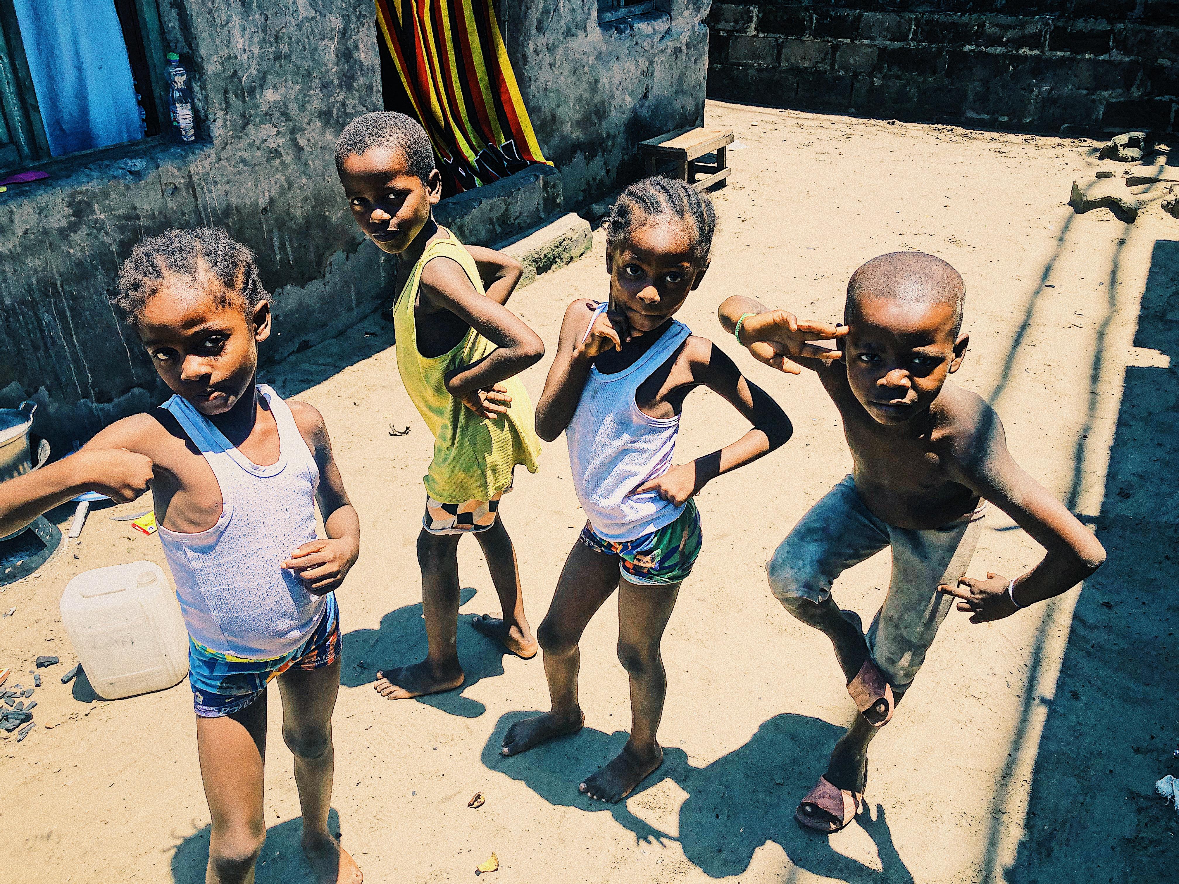 enfants défavorisés Kinshasa