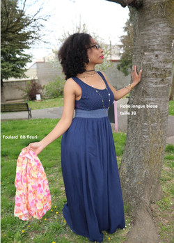 shooting robe femme action vers l'espoir