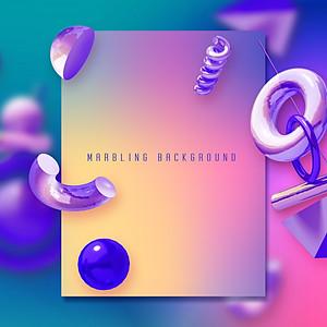 Marbling Background