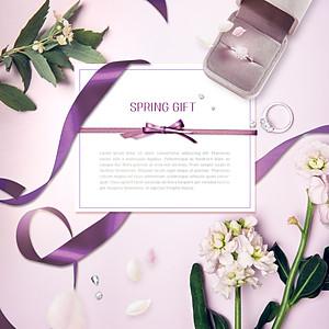 Spring Invitation Templates Design