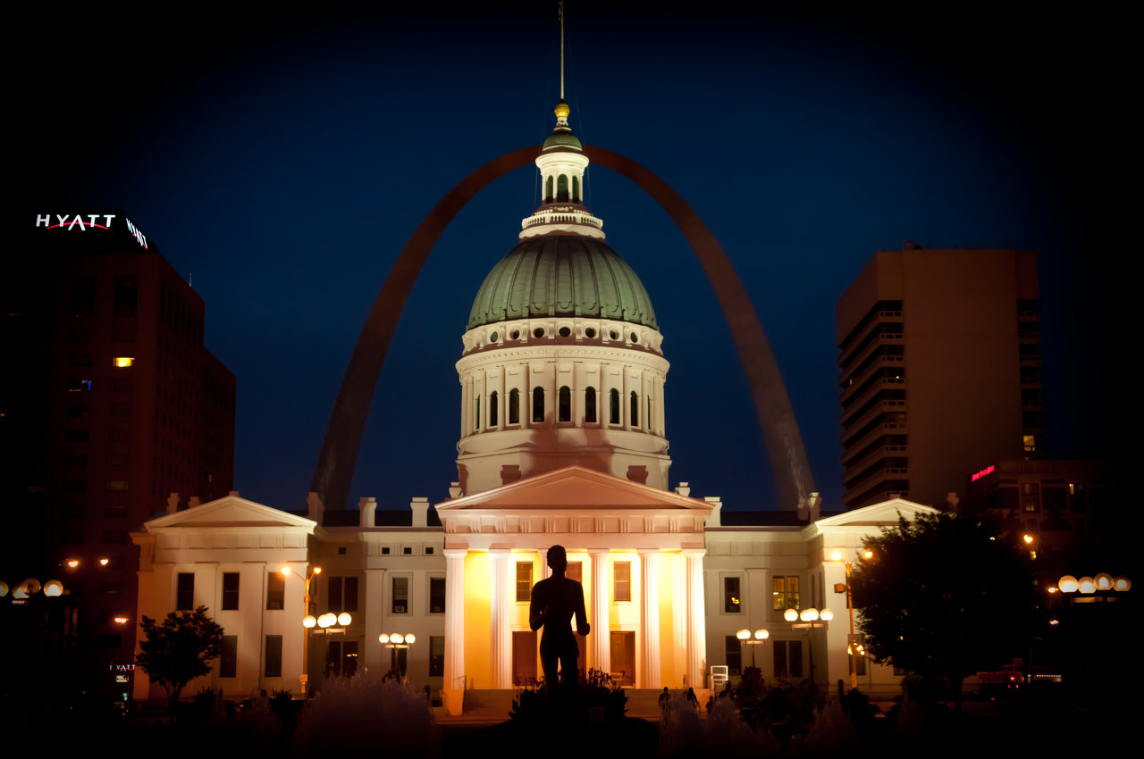 Kiener Plaza, St. Louis, Mo.
