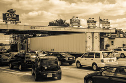 Line at the Toll Booth