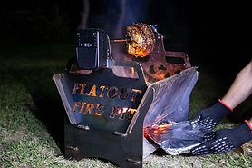 flatout fire pit, sunshine coast, fire pit sunshine coast, flat pack fire pit, metal fire pit, portable fire pit, cheap fire pit, custom fire pit