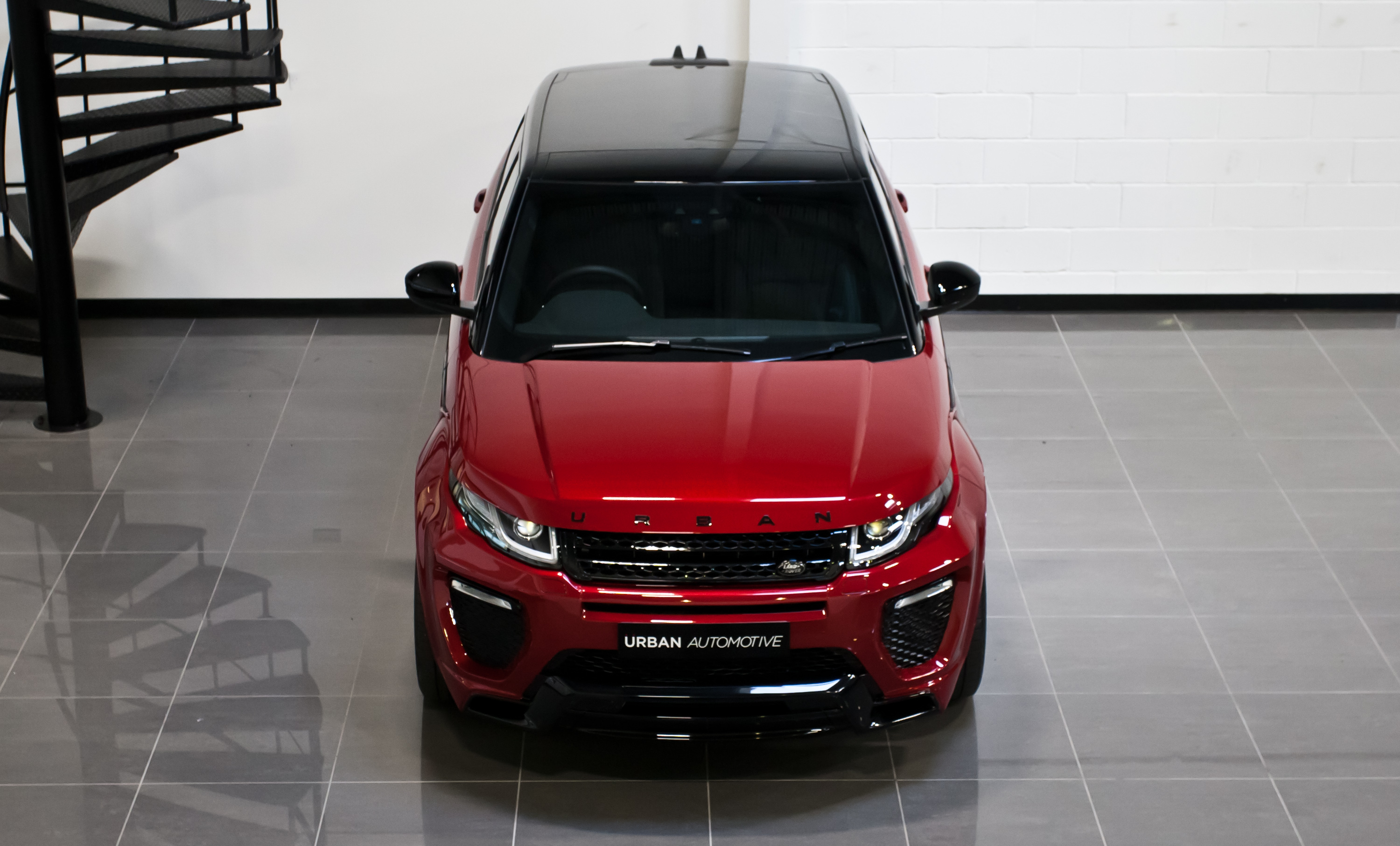 Urban Range Rover Evoque Firenze Red36