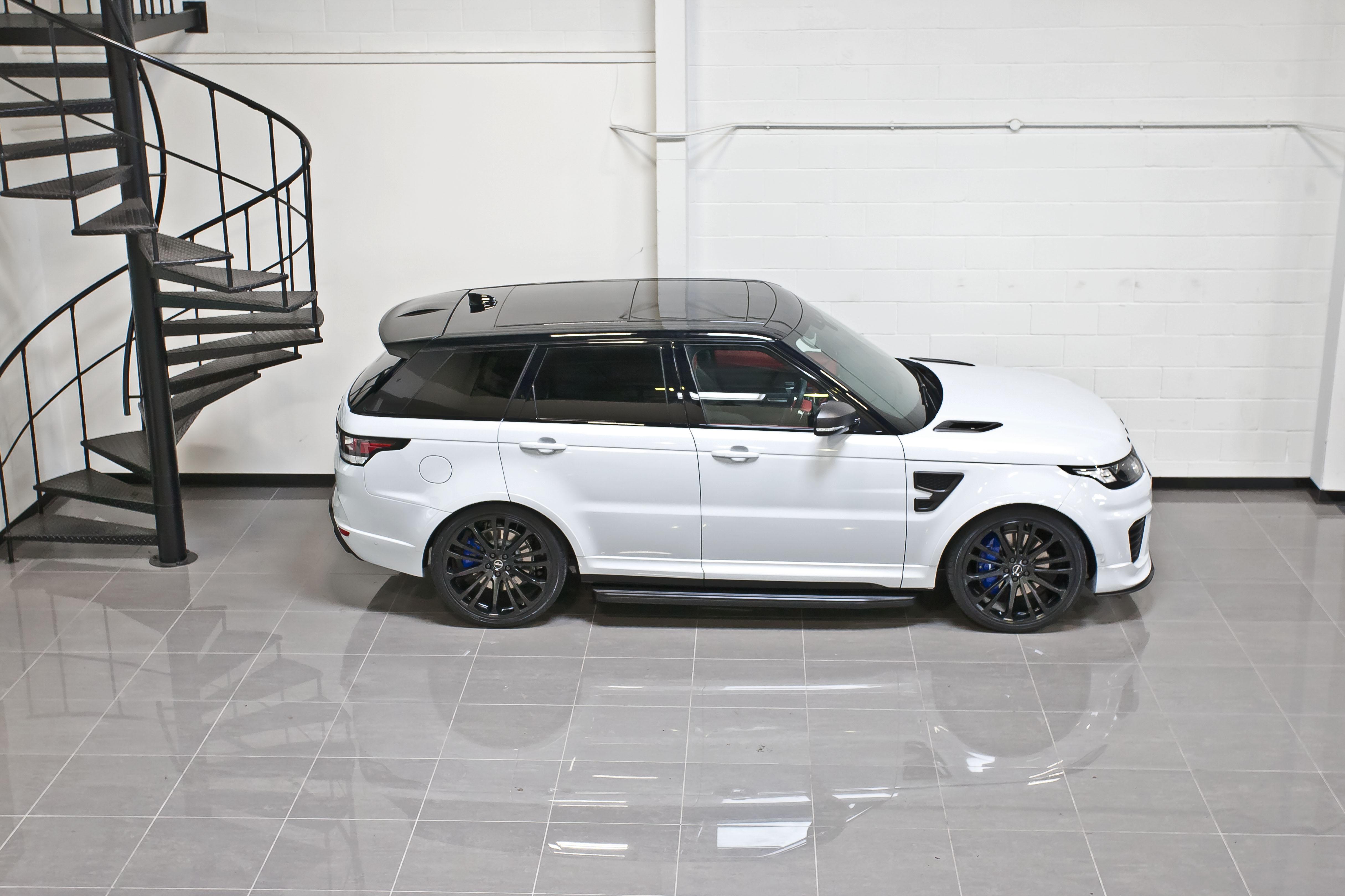 Range Rover SVR Yulong Matte Carbon29