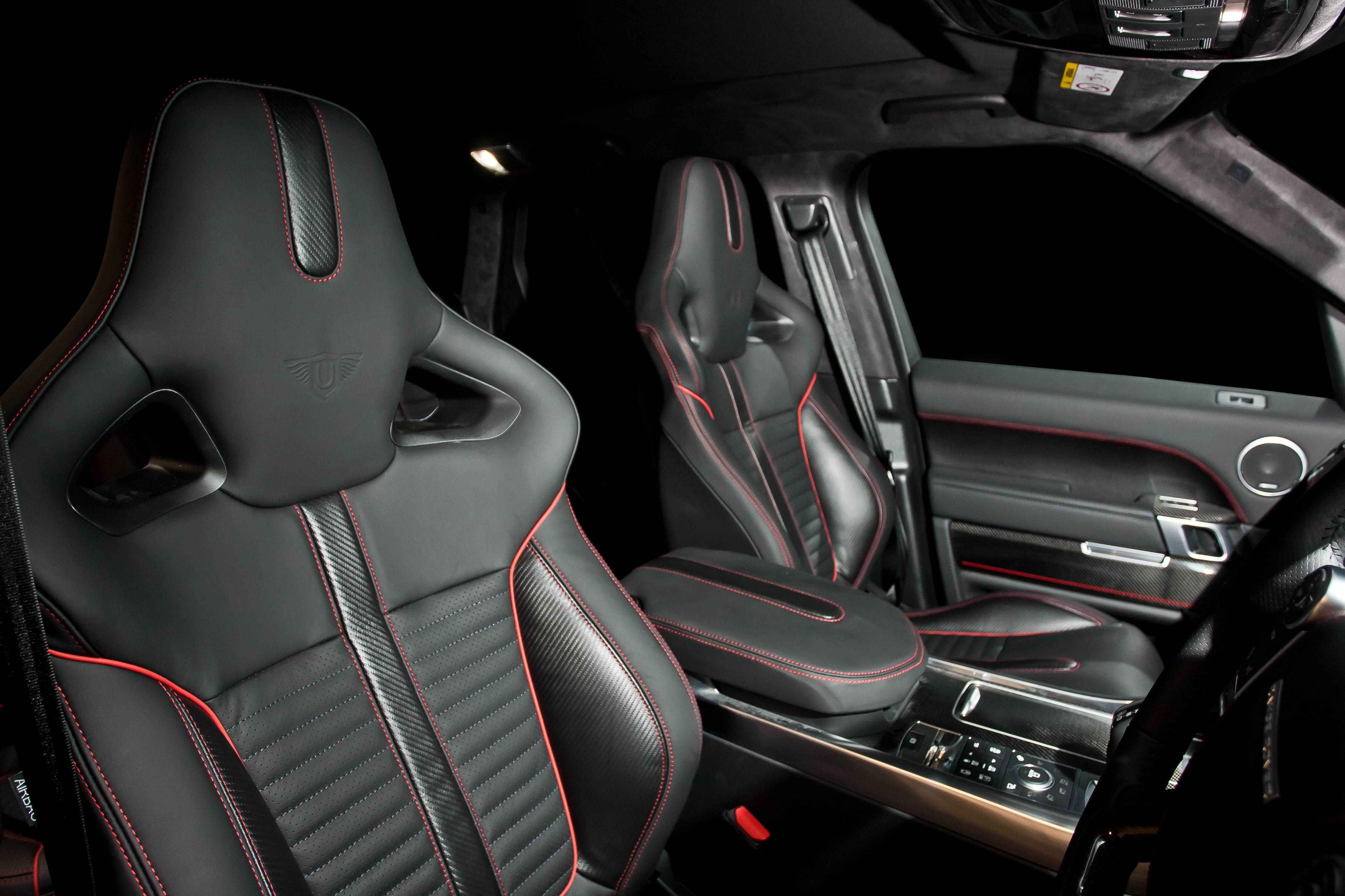SVR Carbon Bespoke Leather Interior2