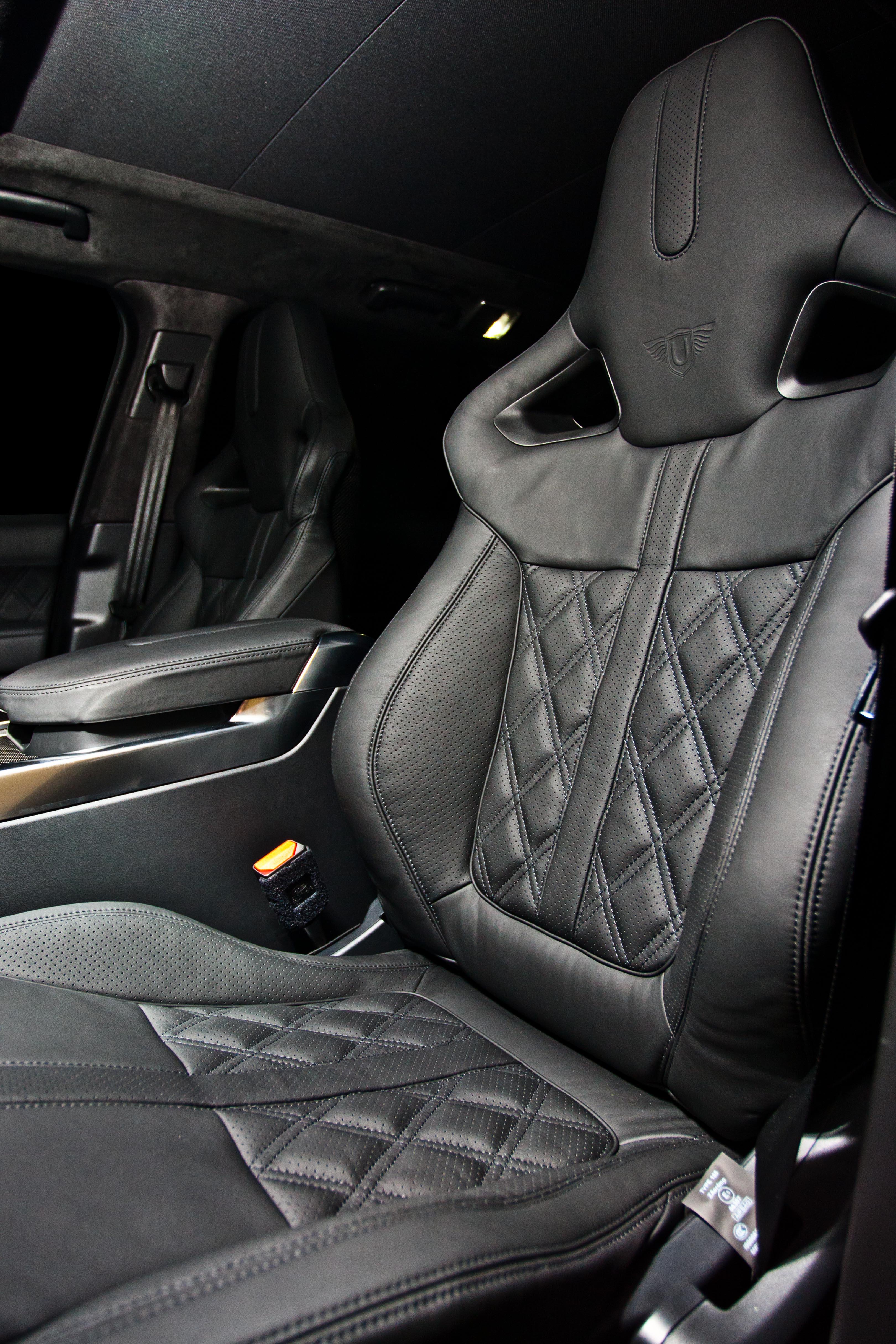 svr Diamond Quilt Leather black53