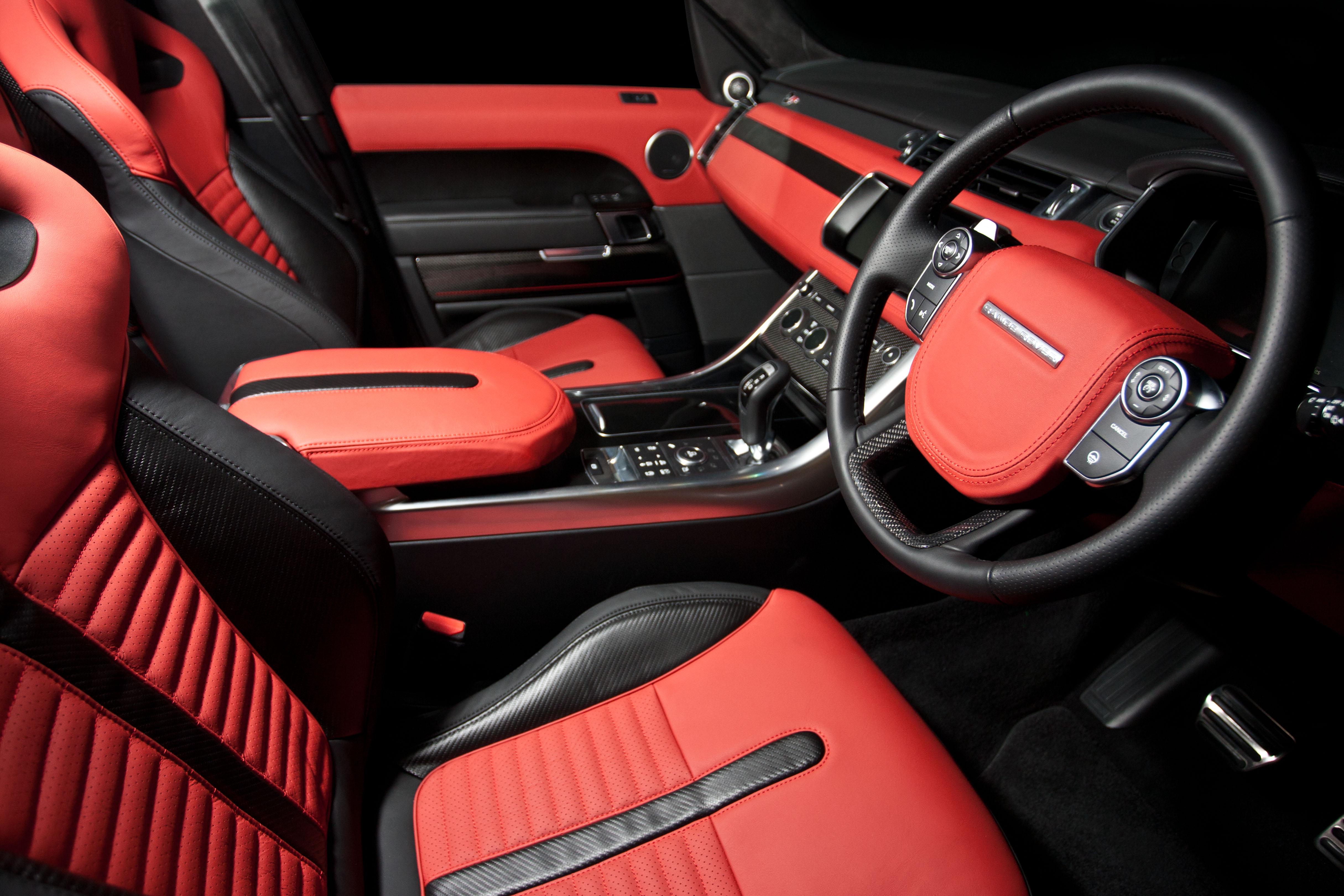 pimento ebony carbon svr leather interior1