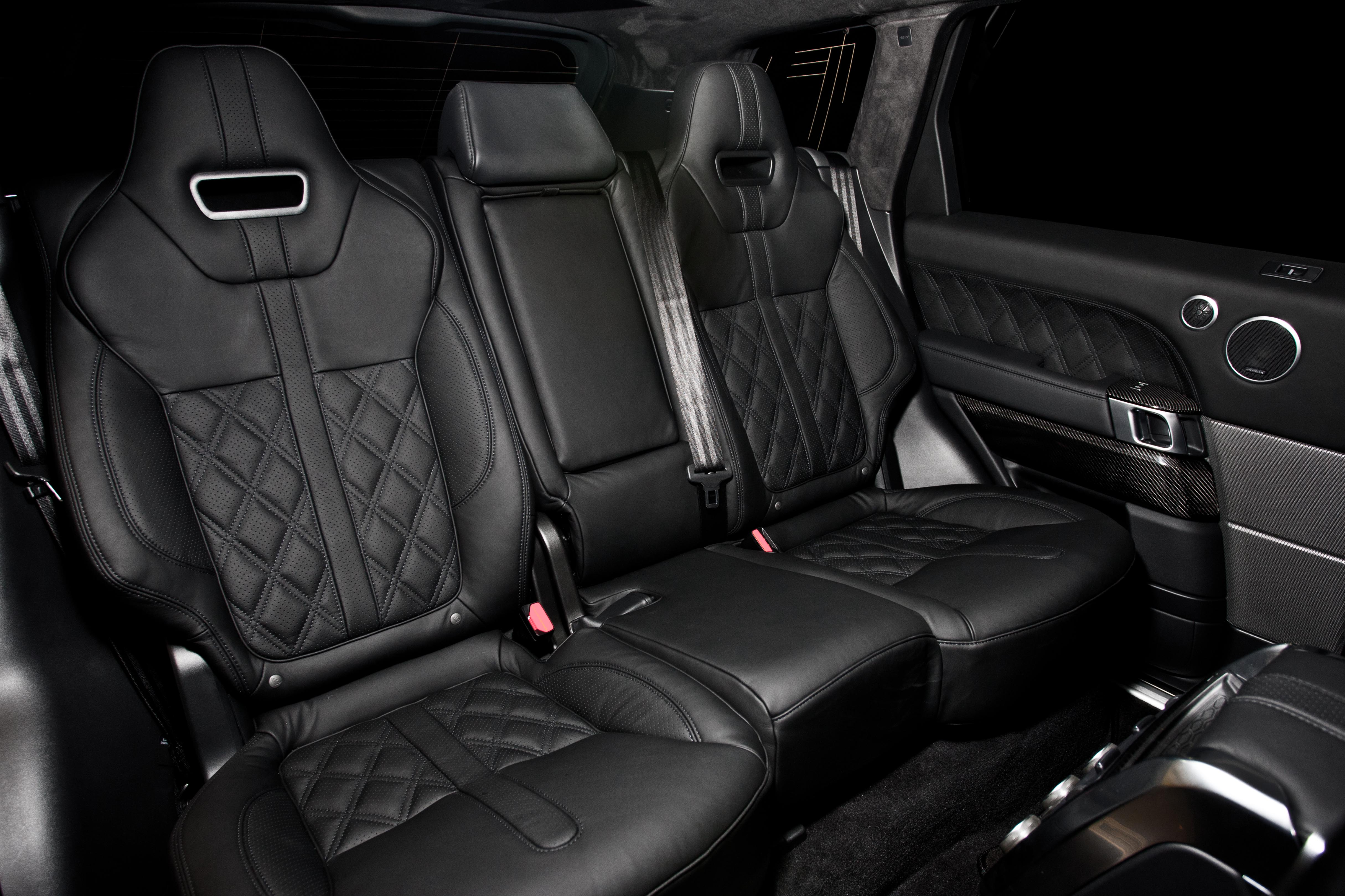 svr Diamond Quilt Leather black30