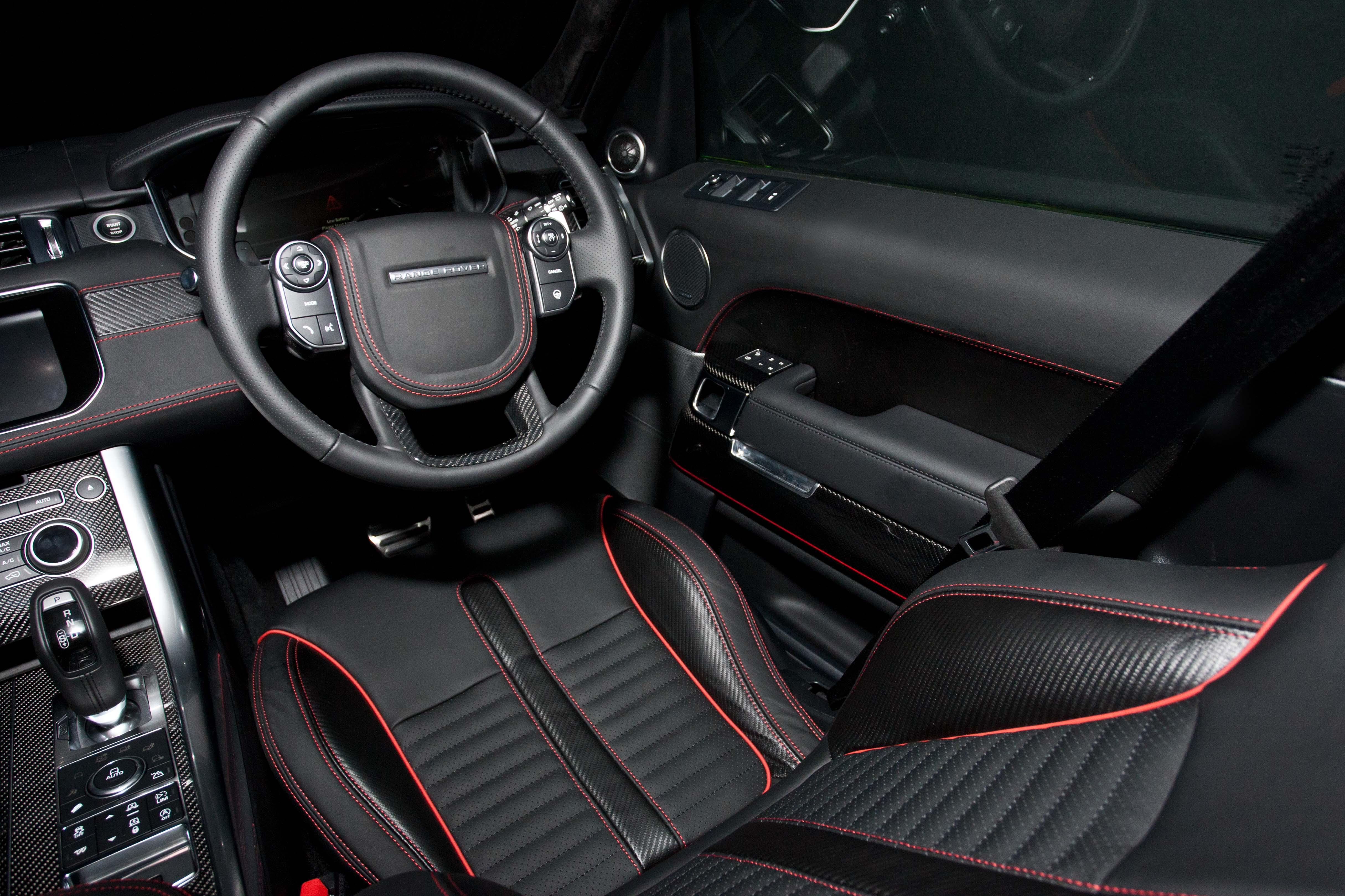 SVR Carbon Bespoke Leather Interior50