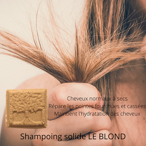 LE BLOND shampoing solide
