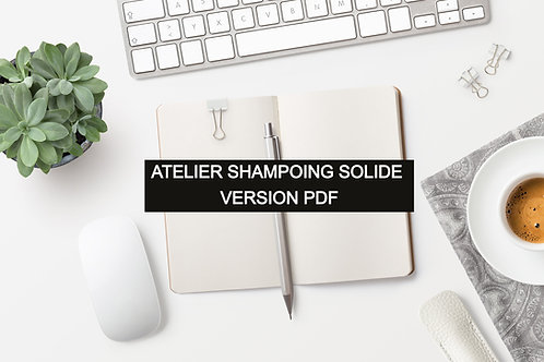 Atelier shampoing solide PDF