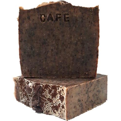 Exfoliant au café savon pour le corps