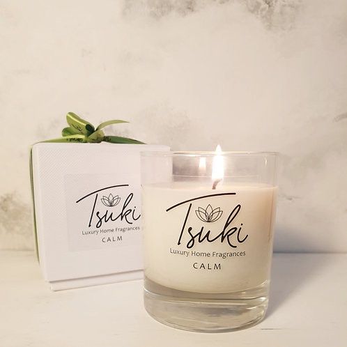 Calm Range - small 1 wick candle - 20cl
