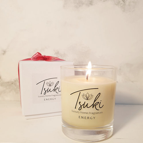 Energy Range - small 1 wick candle 20cl