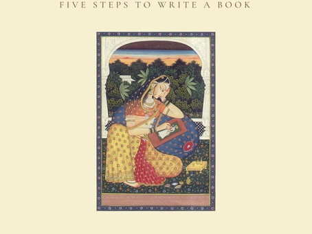 5 steps to writing a book
