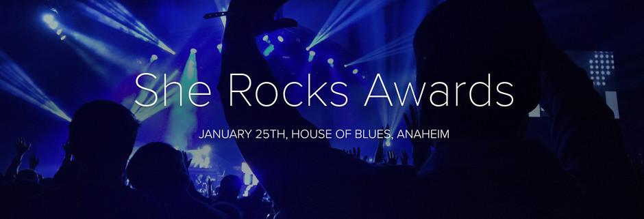 Celebrate Amazing Women in Music at She Rocks Awards