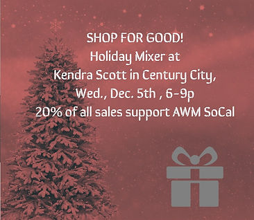 Shop for Good Holiday Mixer
