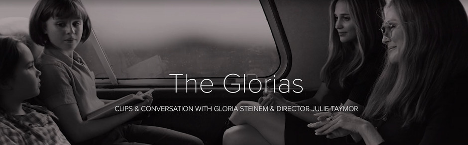 Clips & Conversations with Gloria Steinem & Director Julie Taymor