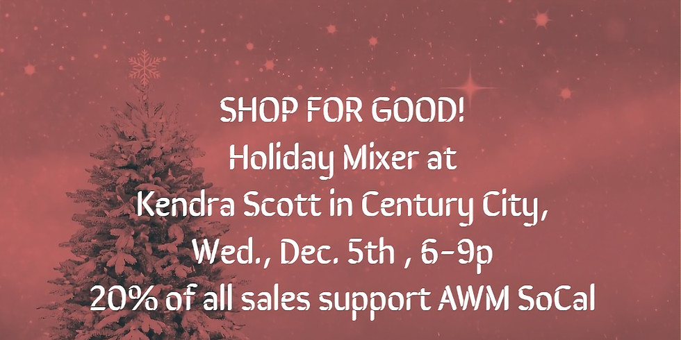 SHOP FOR GOOD!