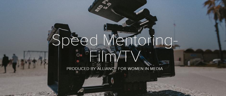 Speed Mentoring For Film & TV