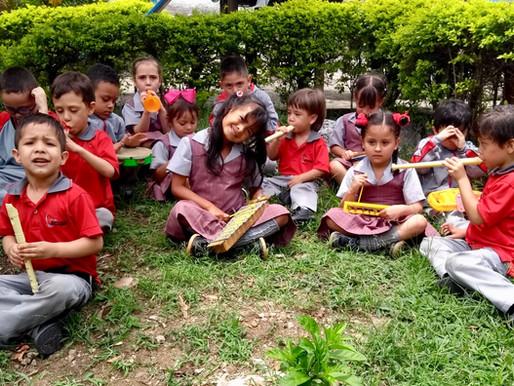 La música como instrumento pedagógico.