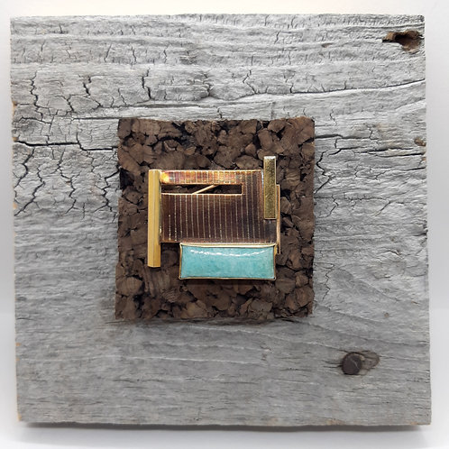 House on Stilts - Brooch