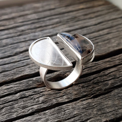 Sweetwater Agate Ring