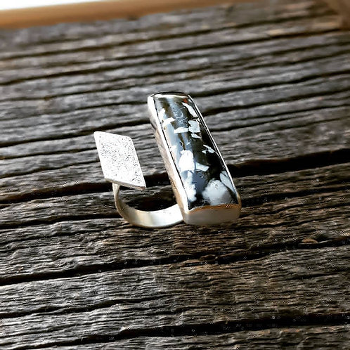 White Buffalo Composite Ring