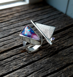 Composite Double Finger Ring