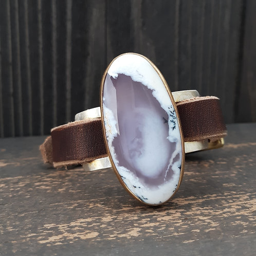 Dendritic Agate Watch Band