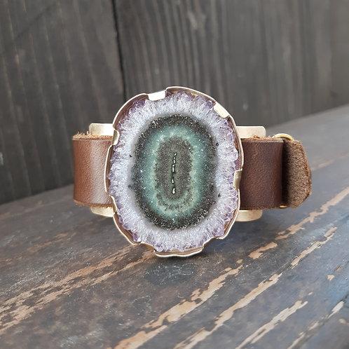 Amethyst Stalactite Watchband