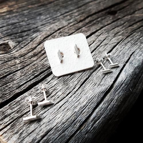 Mini T-Bar Earrings