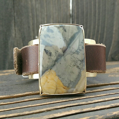 Blue Mountain Jasper watch Band