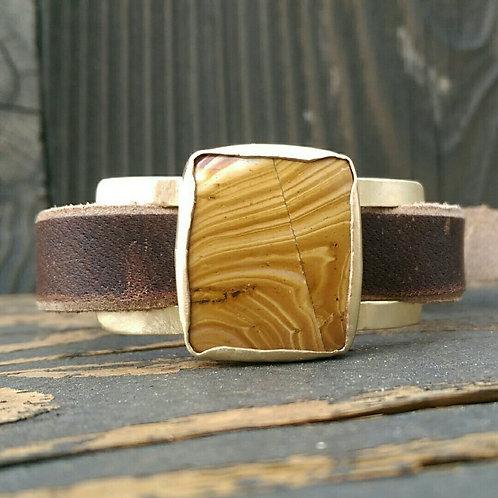 Wood Canyon Jasper Watch Band