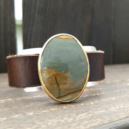 Thermopolis Jasper Watch Band