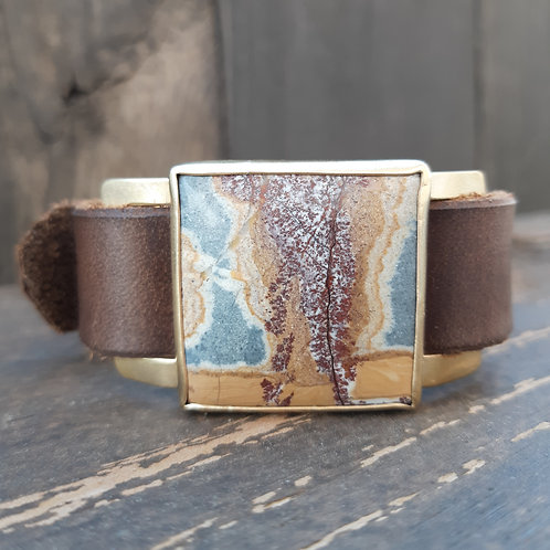 Sonoran Dendritic Jasper Watch Band