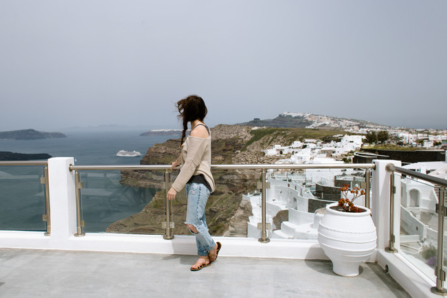 san diego photographer travel in santorini for elopement wedding and portraiture