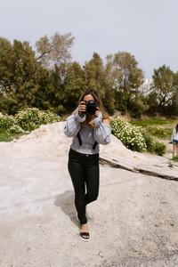 san diego photographer travel in santorini for elopement wedding and portraiture. Destination adventure wedding photography