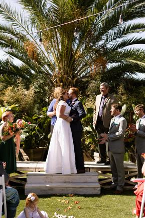 vibrant lush tropical downtown san diego wedding decor details inspiration diy styling