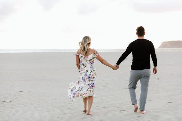 San Diego Coronado California Proposal Surprise Engagement Session